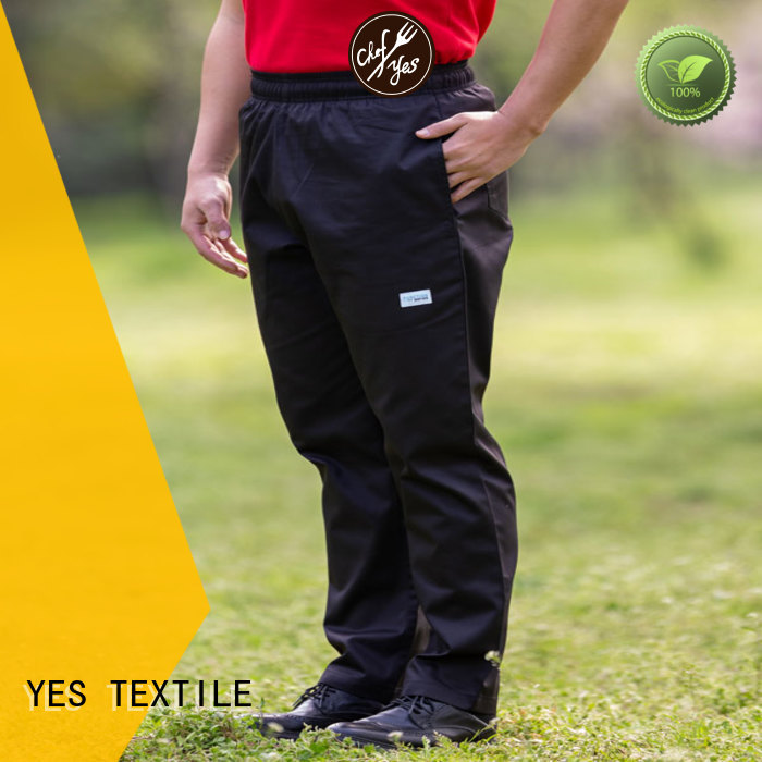 hot selling chef trousers pants exquisite for hotel