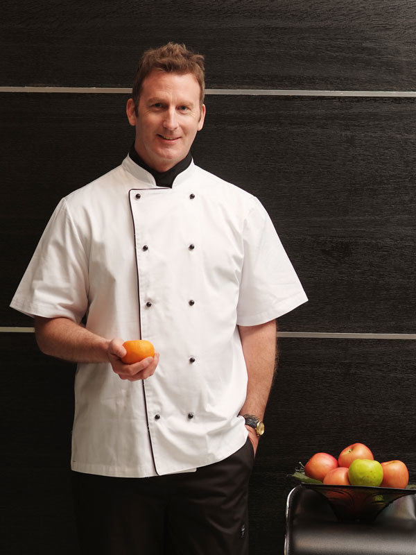 EXCUTIVE POLYCOTTON CHEF COAT (CYJ001S)