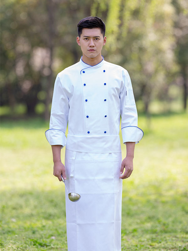 EXCUTIVE LUXURY COTTON CHEF COAT (CYJ009)