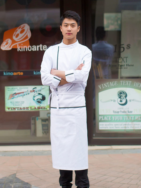 EXECUTIVE FORD POLY COTTON CHEF COAT (CYJ070)