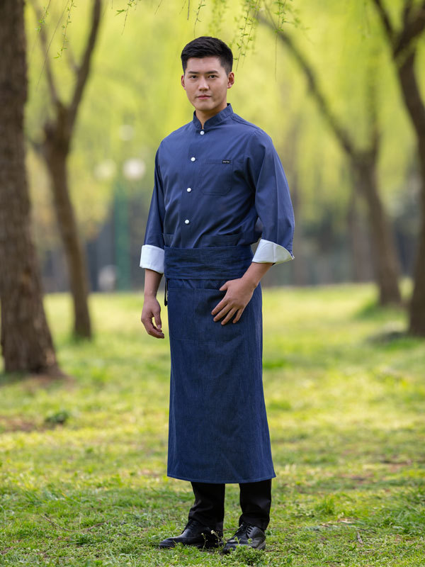 EXCUTIVE  RICH COTTON CHEF COAT (CYJ300)