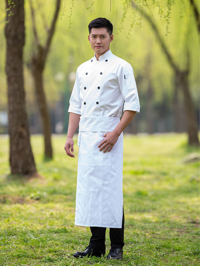 PREMIUM  POLY CHEF COAT (CYJA05W)