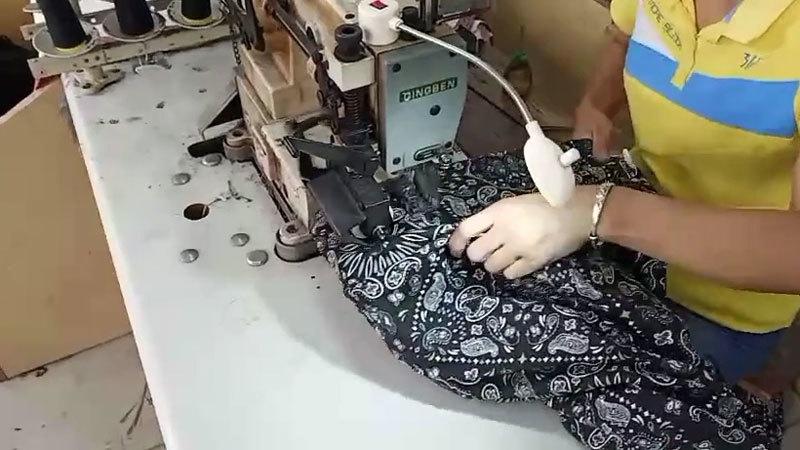 WAIST-BAND SEWING