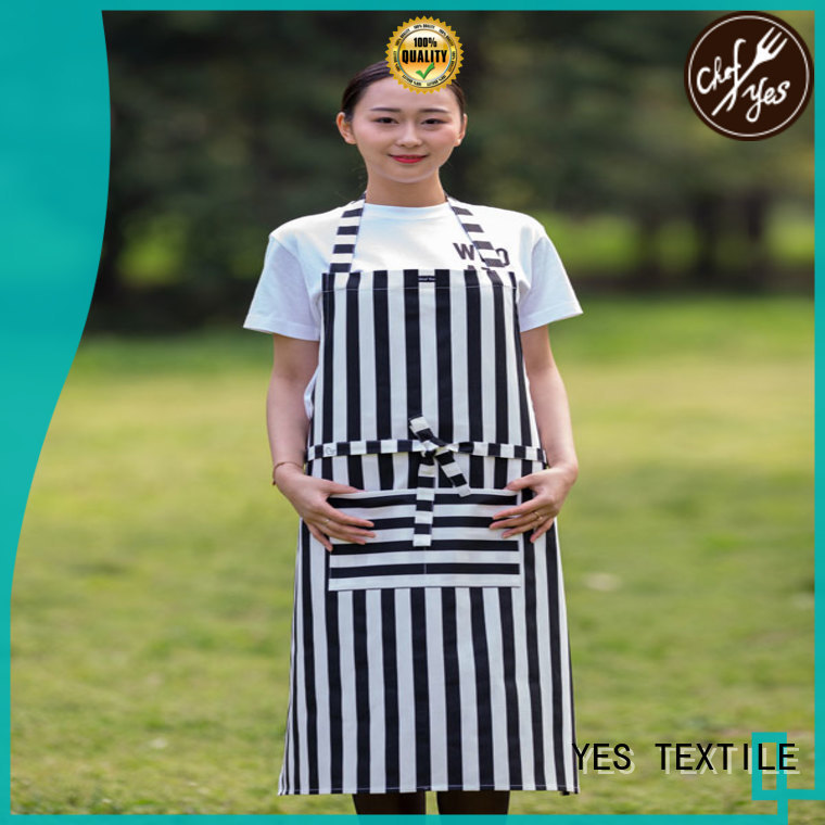 chefyes healthy personalized aprons wholesale for girl