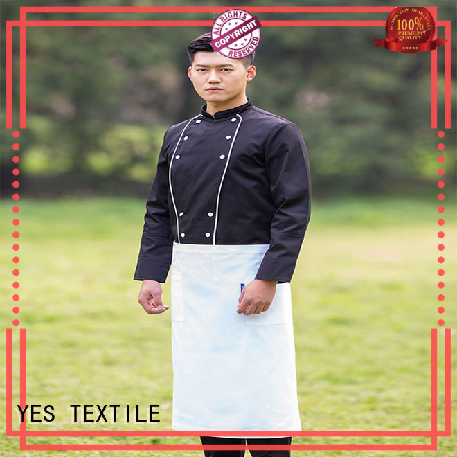 chefyes coat denim apron buy for hotel