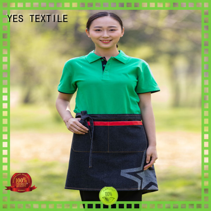 good quality black apron excutive directly sale for women