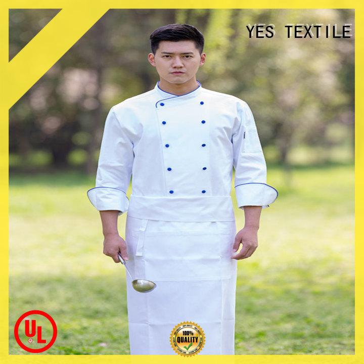 elastic restaurant uniforms premium buy for party
