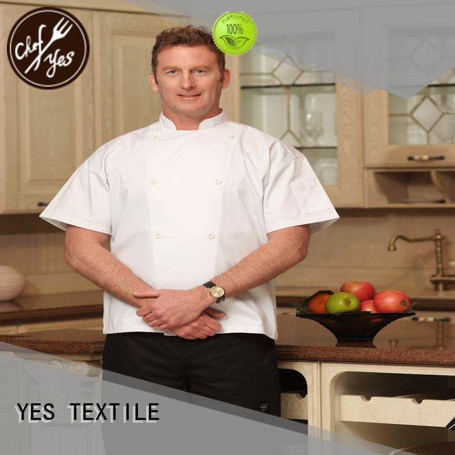 chefyes breathable chef pants customized for madam