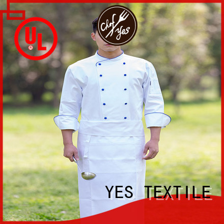 chefyes thin personalized chef coat now for home