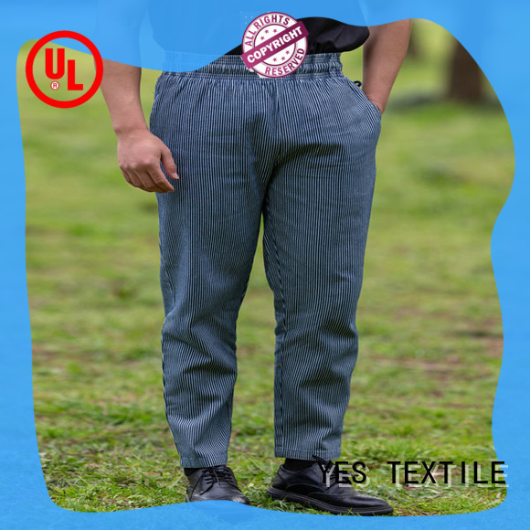 chefyes popular chef pants exquisite for hotel