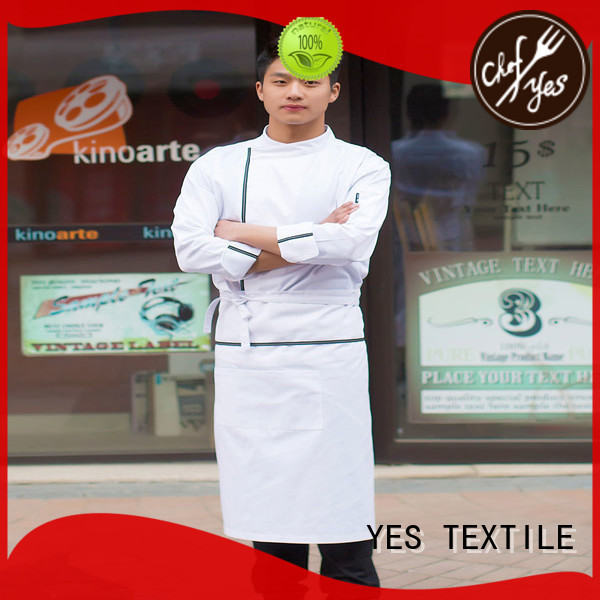 chefyes ladies chef uniform price for party