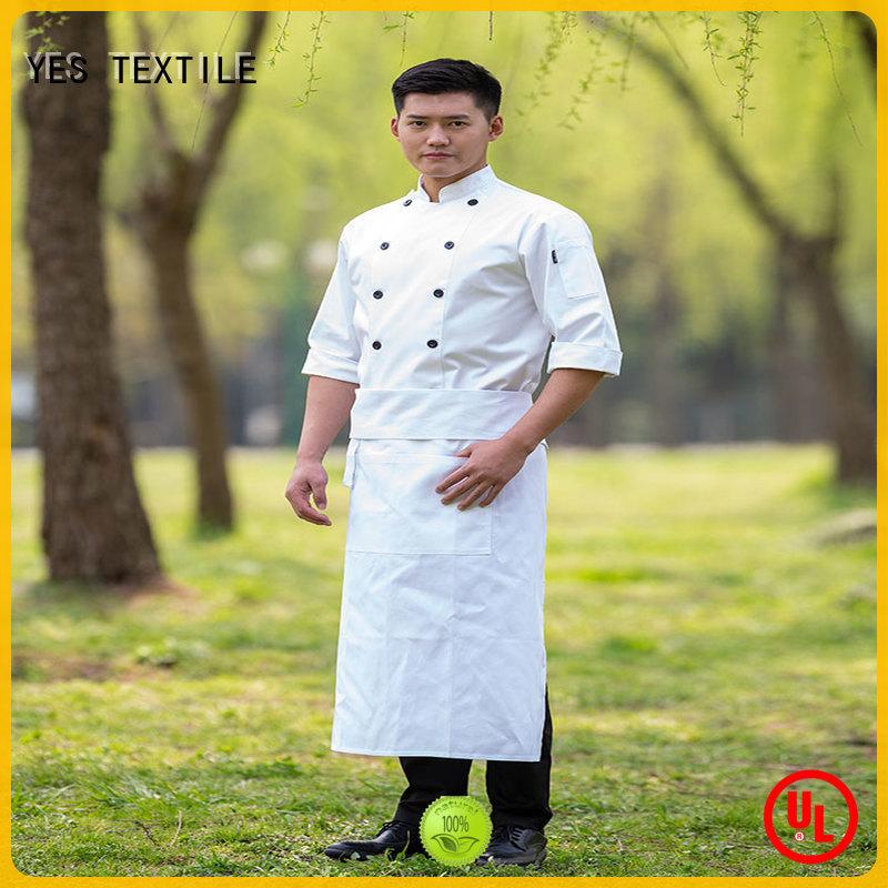 chefyes soft chef uniform buy for hotel
