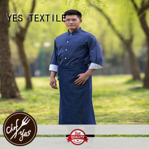 elastic custom chef coats luxury buy for party