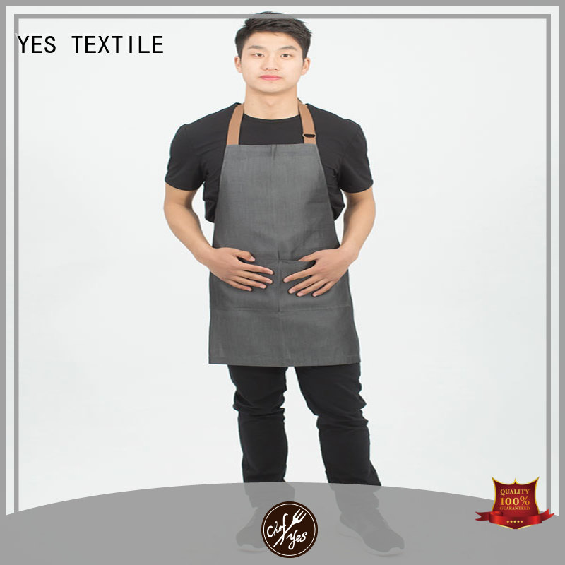 chefyes natural black apron directly sale for ladies