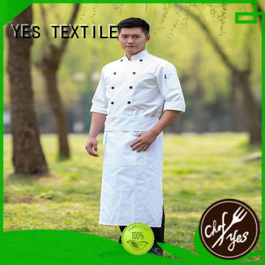 chefyes thin chef clothing now for hotel