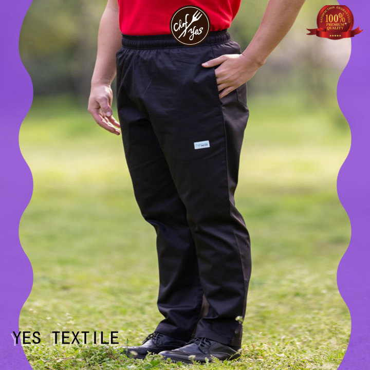 chefyes popular chef trousers series for hotel