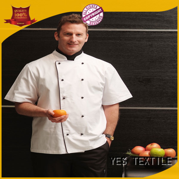 chefyes elastic chef shirts buy for home